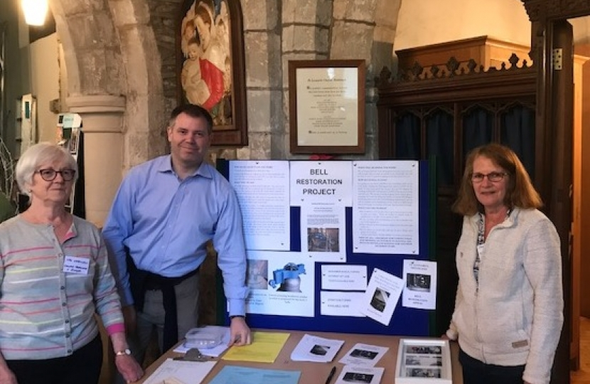 Edward at Swithland Church