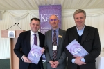 Edward at Kew Gardens' Science Collections Strategy Launch