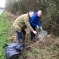 Edward & Cllr Poland at Thrussington Litter Pick